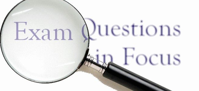 exam questions — St Michael's Catholic College