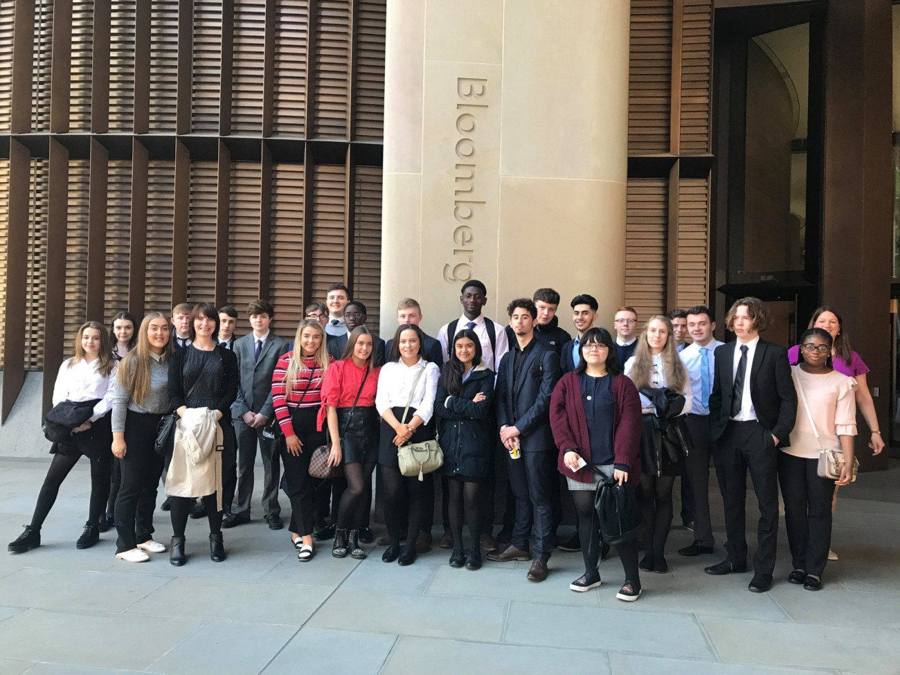 6th Form Morgan Stanley Co-operation Ireland — St Michael's